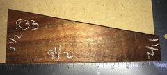 Hawaiian Koa Board Curly  4/4 #R-33