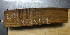 Hawaiian Koa Board Curly 4/4 #E-131