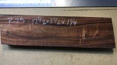 Hawaiian Koa Board Curly 4/4 #P-25