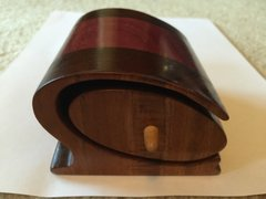 Hawaiian Koa and Purple Heart bandsaw box