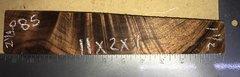 Hawaiian Koa Board Curly  4/4 #P-85