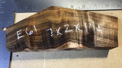 Hawaiian Koa Board Curly 4/4 #E-61