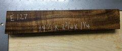 Hawaiian Koa Board Curly 4/4 #E-127