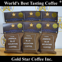 6 lb Wallenford Estates Jamaican Blue Mountain Coffee DARK ROAST