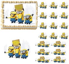 MINIONS Edible Cake Topper Image Frosting Sheet