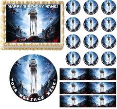 Star Wars Battlefront Edible Cake Topper Image Frosting Sheet Cake Decoration
