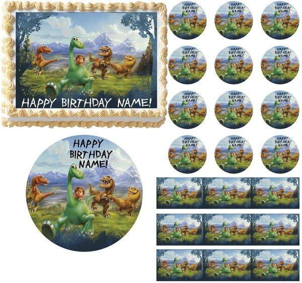 The Good Dinosaur Edible Cake Topper Image Frosting Sheet