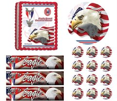 Eagle Scout Ceremony Court of Honor Be Prepared Edible Cake Topper Image Frosting Sheet