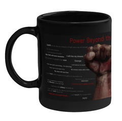 Power Beyond the Fist Coffee Mug