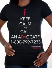 Keep calm and call a DV advocate