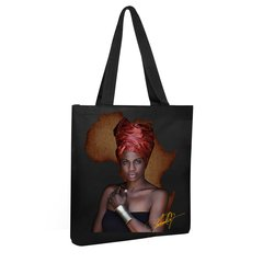 The Nubian Collection Canvas Tote Bag