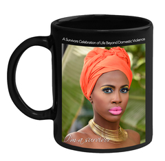 SURVIVORS CELEBRATING LIFE BEYOND DOMESTIC VIOLENCE COFFEE MUG