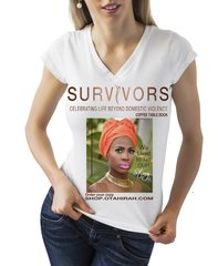 SURVIVORS CELEBRATING LIFE BEYOND DOMESTIC VIOLENCE T'SHIRT