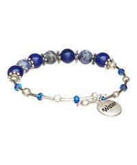 Water Element Cluster Beaded Bracelet