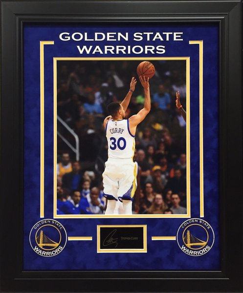 Stephen Curry 11x14 Photo Signed Autographed Framed
