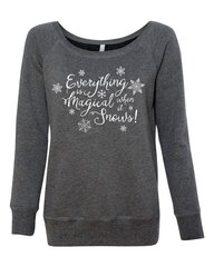 Gilmore Girls Everything is Magic When it Snows Sweatshirt