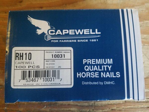 Capewell Nail Regular Head 10 - 100 Count Box