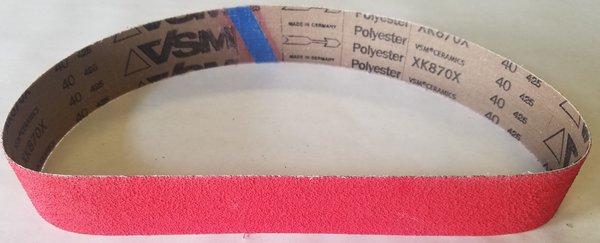2x36 Ceramic 40 Grit Belt