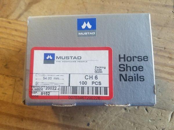 Mustad Nail City Head 6 - 100 Count Box