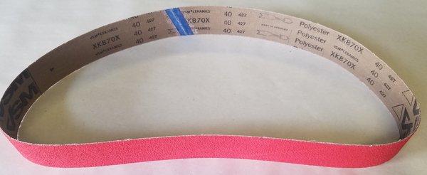 2x48 Ceramic 40 Grit Belt