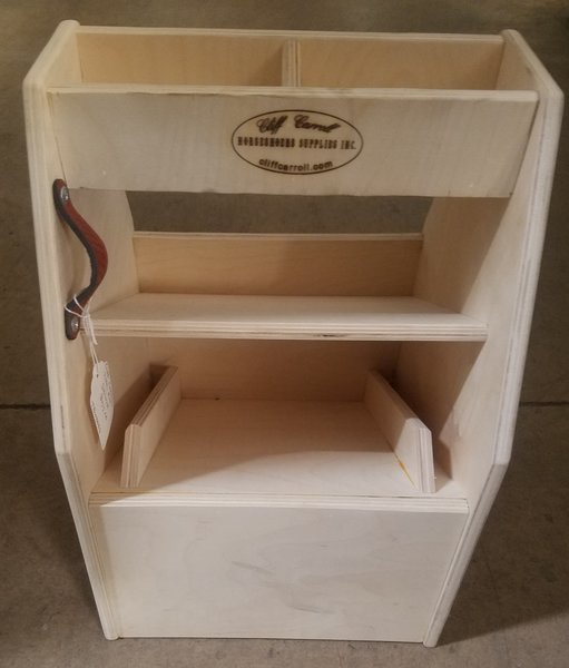 Cliff Carroll Deluxe Wooden Tool Box