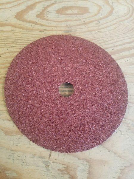 Aluminum Oxide Fibre Disc - 7 x 7/8 - 36 grit (CS561)