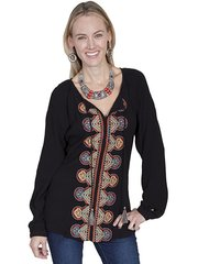 Scully Multi Peasant Top-SALE