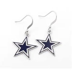 Dallas Cowboys NFL Dangle Earrings