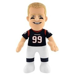 NFL Player 10 Inch Plush Figure Houston Texans J.J. Watt