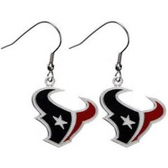 Houston Texans NFL Dangle Earrings