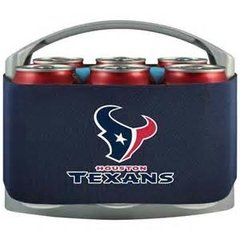 Houston Texans Cool Six Cooler - Navy Blue