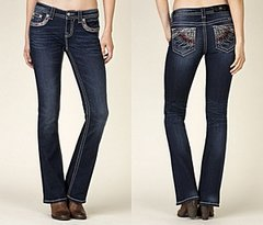 Miss Me mid-rise boot cut