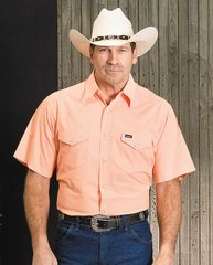 Wranglers Short Sleeve Orange