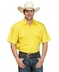 Drysdales Yellow Short Sleeve