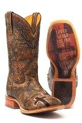Tin Haul- John 3:16 Boot