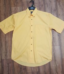 Roper Yellow Short Sleeve