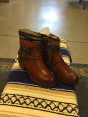 Corkys Arrey leather booties