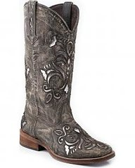 Ladies Roper Cowgirl Boot 0671