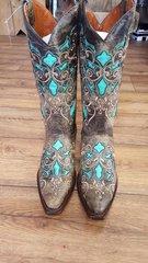 Corkys ladies western botts