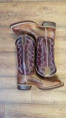 Ladies Justin Boot Bronze Cedro