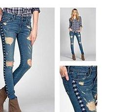 Miss Me Vintage Skinny Jeans