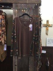 Panhandle ladies L/S knit shirt