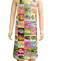 Children's 4-6 year old PVC 'easy wipe clean aprons, CAMPER VAN