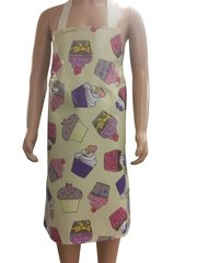 Adult PVC 'easy wipe clean aprons, CUPCAKES