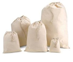 Strong cotton/calico storage bags, useful for storing/transporting just about anything! Large choice of sizes, S Small 25cm x 30cm Natural