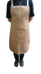 Gardening Apron, Hessian/Jute with Calico backing, 70cm x 89cm giving excellent protection to you and your clothes Only £12.99 including FREE POSTAGE uk only