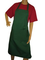Aprons, full size adults, with large pockets, choice of colour, Bottle Green