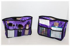 Cosmetic bags for competition, dance, cheer, gymnastics, skating