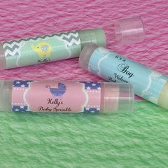 Personalised Lip Balm Tubes - Baby Theme