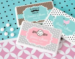 Personalised Mini Mint Favours -  Baby Shower Theme